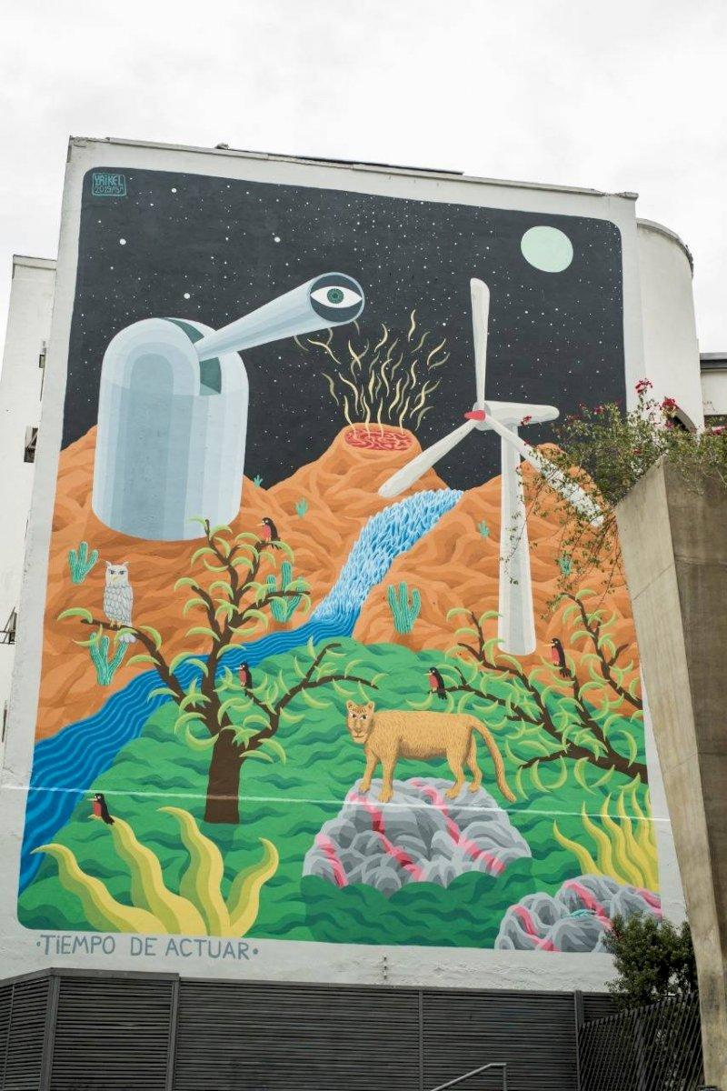 Mural ciencia