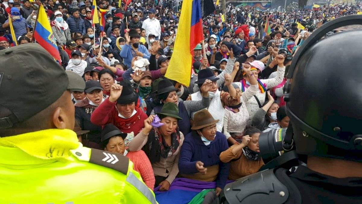 Conaie cederá al diálogo si Gobierno deroga decreto 883