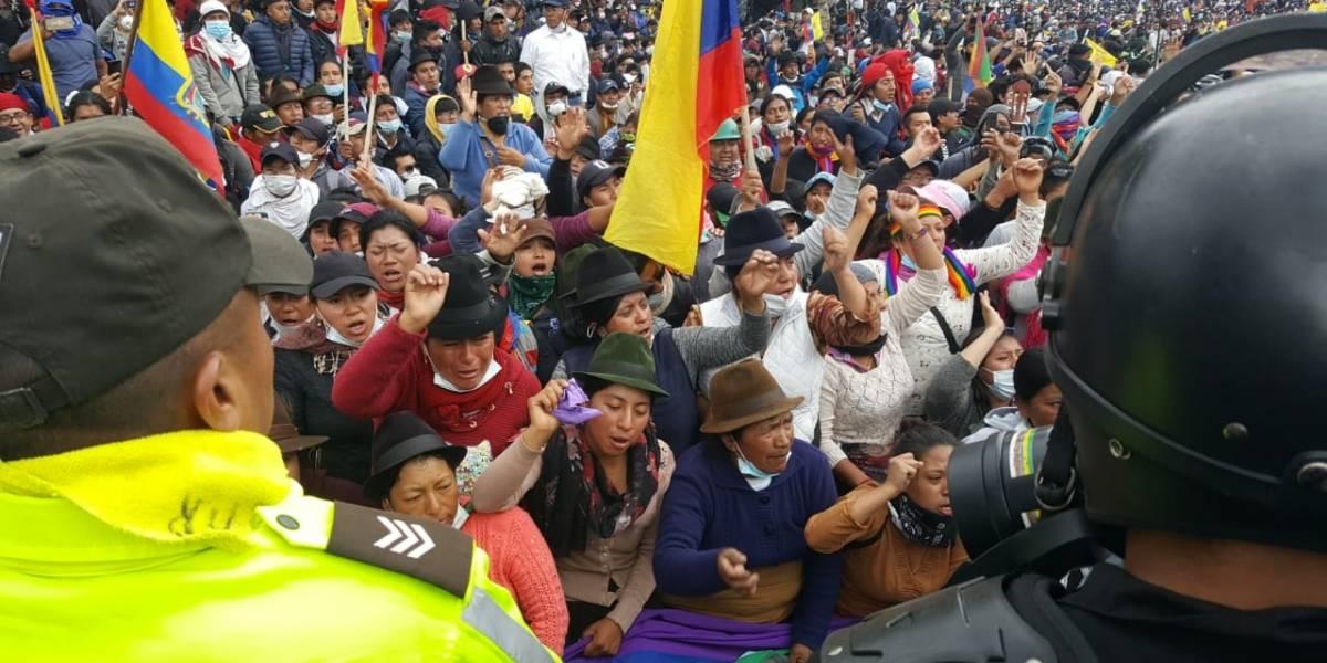Conaie cederá al diálogo, si Gobierno deroga decreto 883