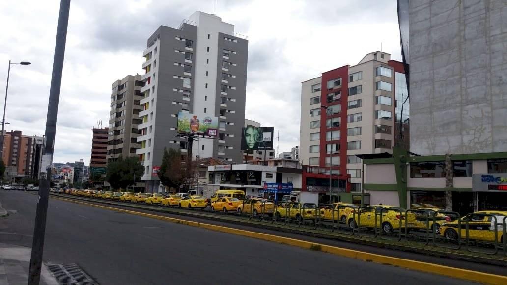 taxistas Quito