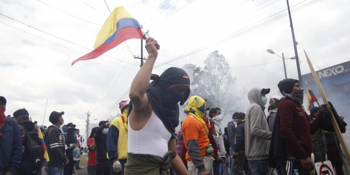 Paro nacional: Lenín Moreno dispone toque de queda y militarización del Distrito Metropolitano de Quito