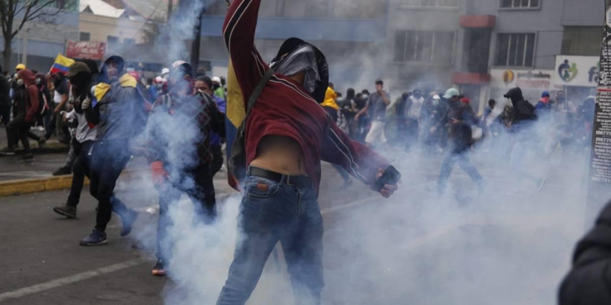 La represión en Ecuador
