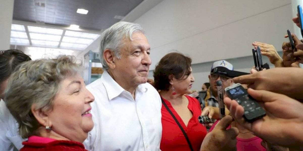 Me declaro en huelga de entrevistas, dice AMLO en Tijuana