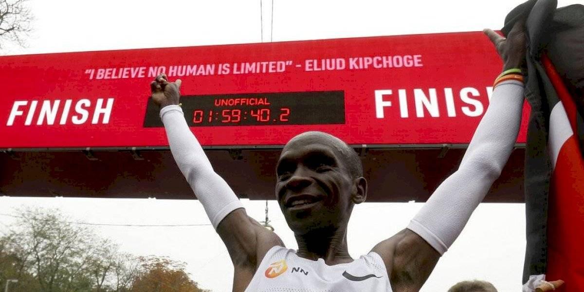 Eliud Kipchoge, primer atleta que termina el maratón en menos de 2 horas