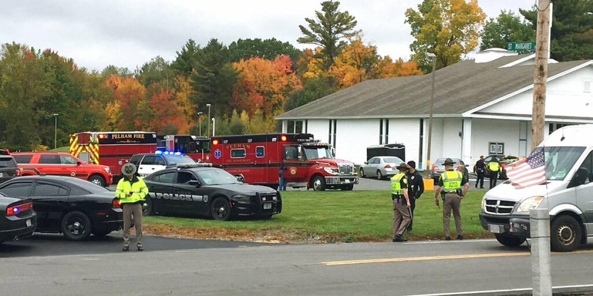 Se reportan disparos en iglesia en New Hampshire