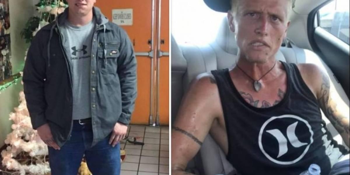¡Impactante! Madre comparte el antes y el después de su hijo adicto a la heroína