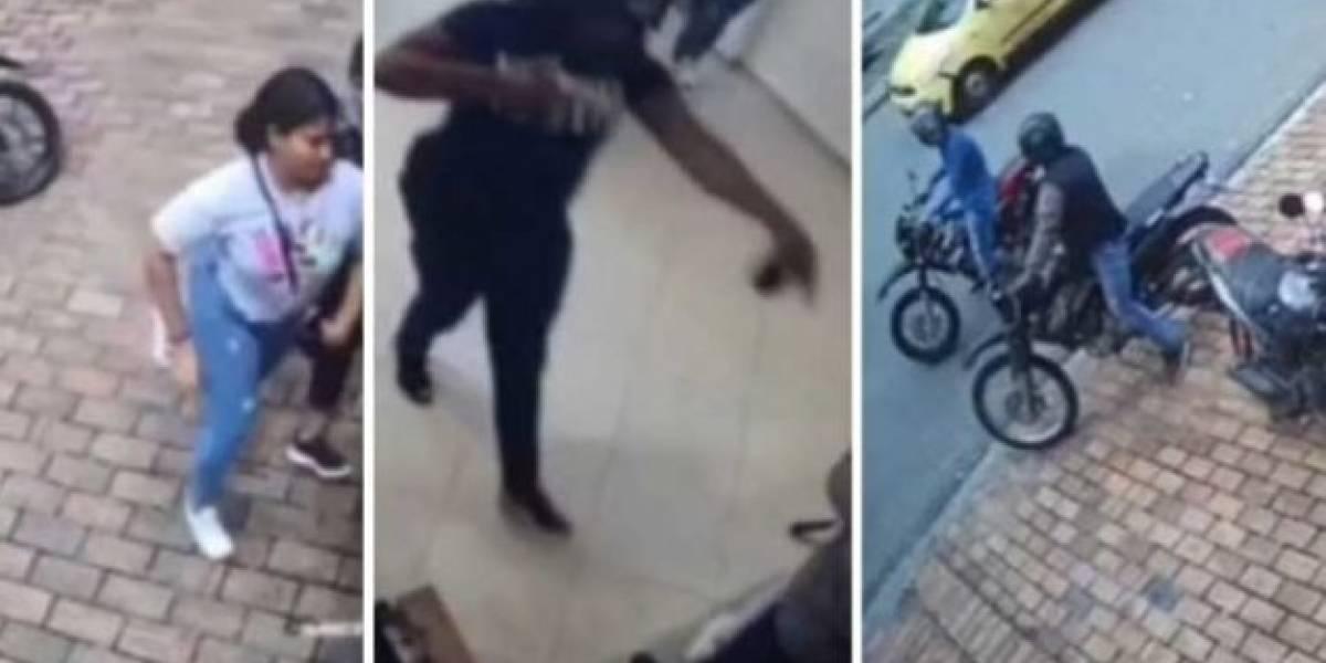En video quedó registrado el momento en que fleteros roban a mujeres