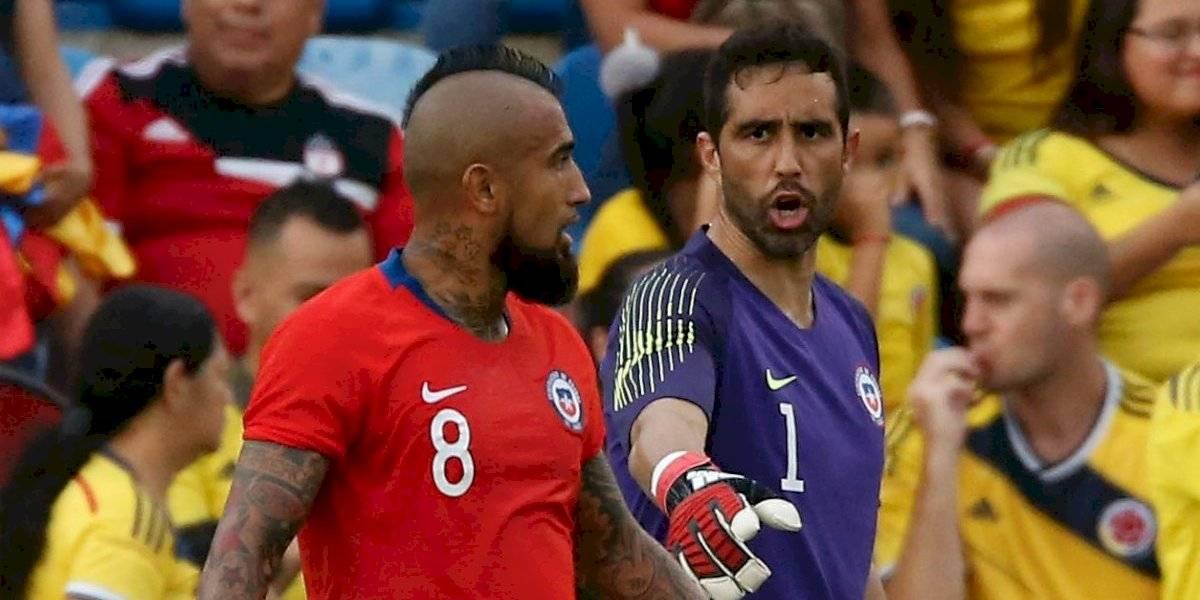 """Bravo y su retorno a La Roja con Vidal: """"Somos gente grande y lo que salga hacia afuera no nos debe importar"""""""