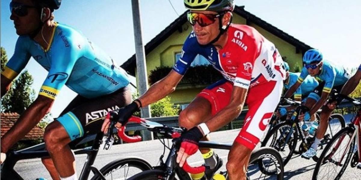Impactante imagen: ciclista revela foto del estado de sus piernas tras volver a competir luego de 10 meses de suspensión