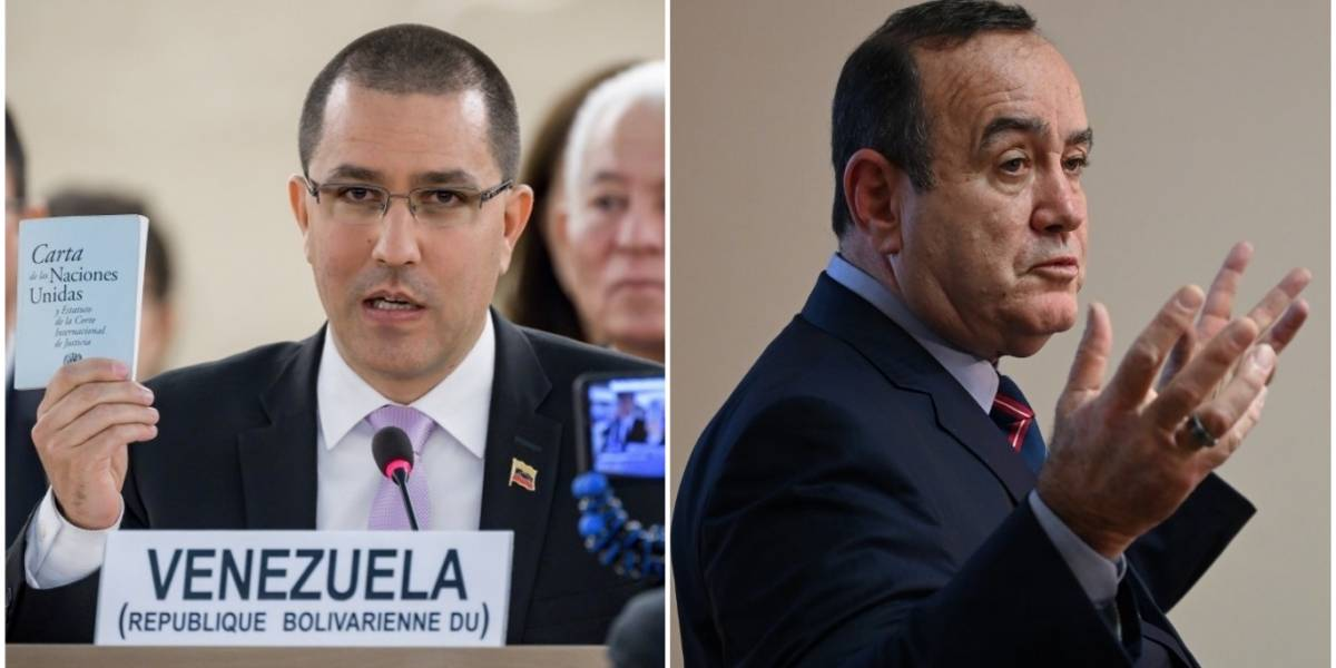 Gobierno de Venezuela se pronuncia tras prohibir ingreso a Giammattei