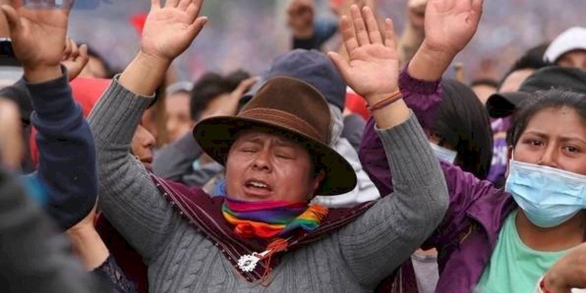 La CONAIE envió un mensaje a todo el pueblo ecuatoriano