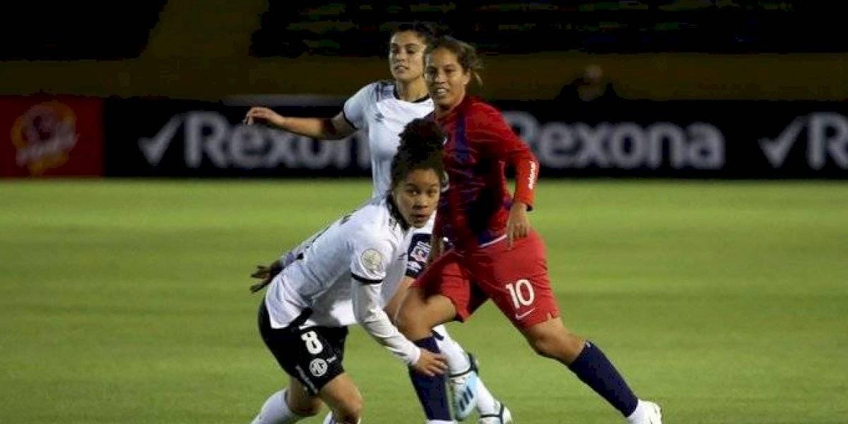Colo Colo se apagó y sufrió dolorosa derrota en su debut en la Copa Libertadores Femenina