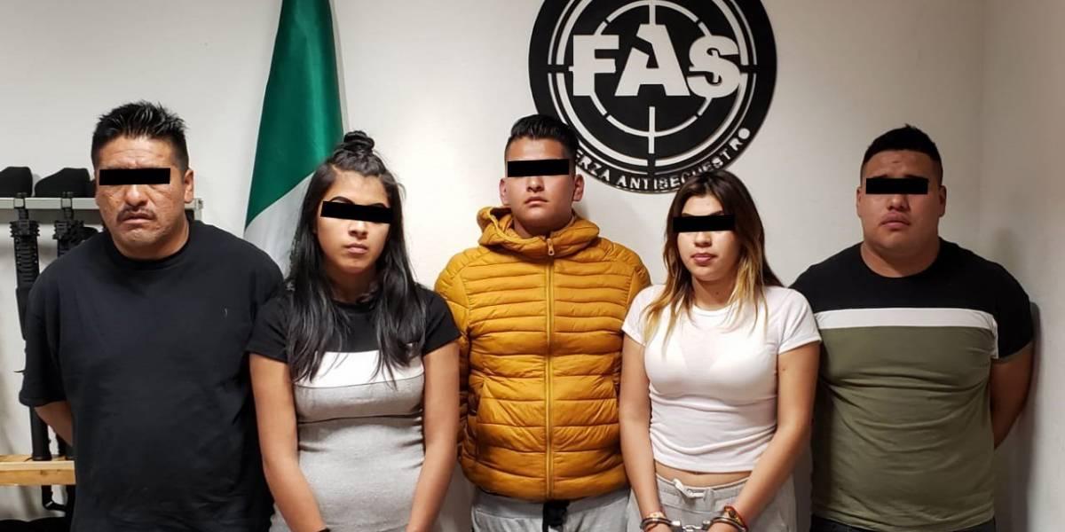 Cae banda por secuestro exprés afuera de bares en Polanco