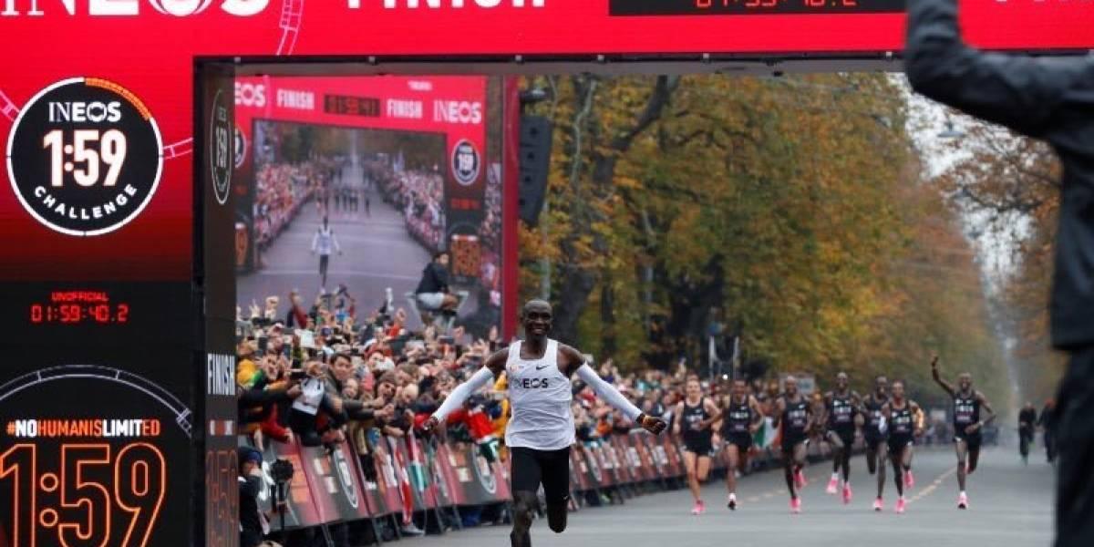 VIDEO. La maratón tiene un solo nombre: Eliud Kipchoge