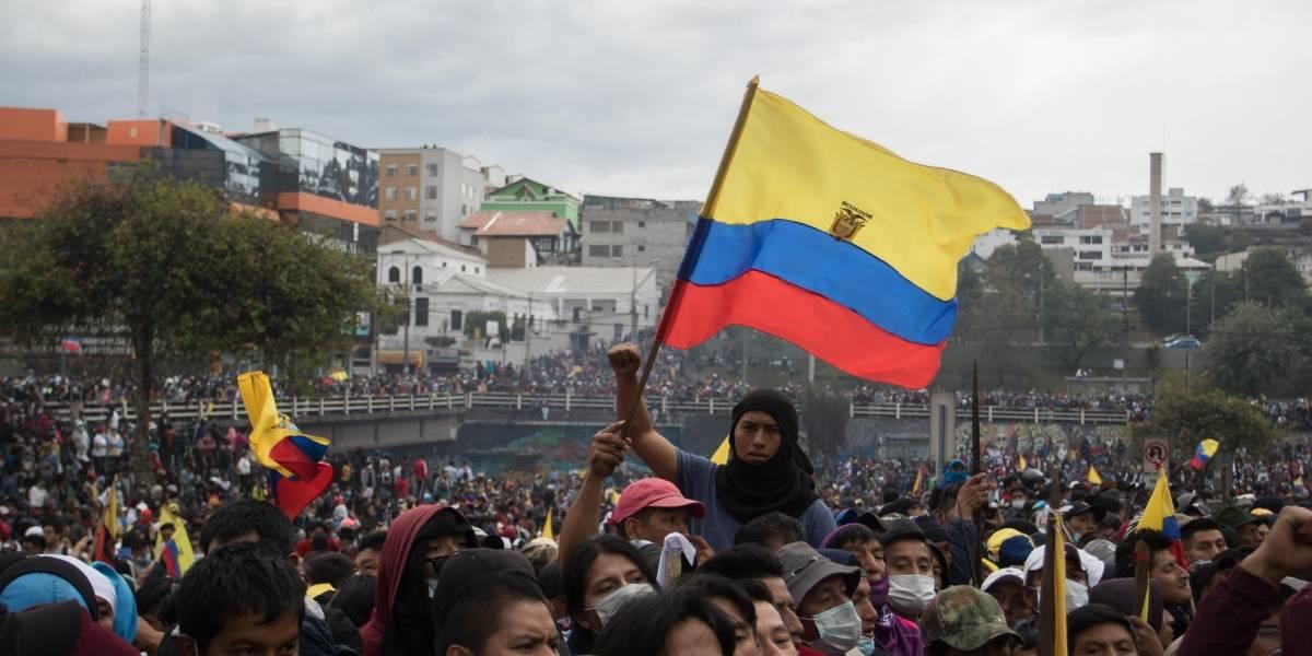 Indígenas aceptan diálogo con Gobierno de Ecuador;  piden garantía internacional
