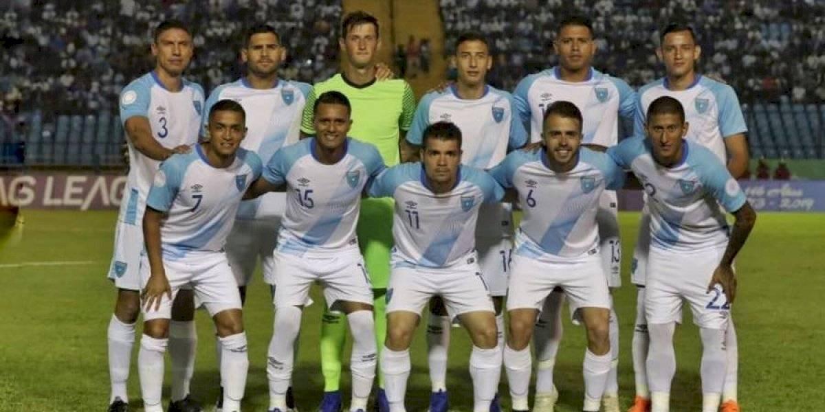 Guatemala escala posiciones en el ránking FIFA