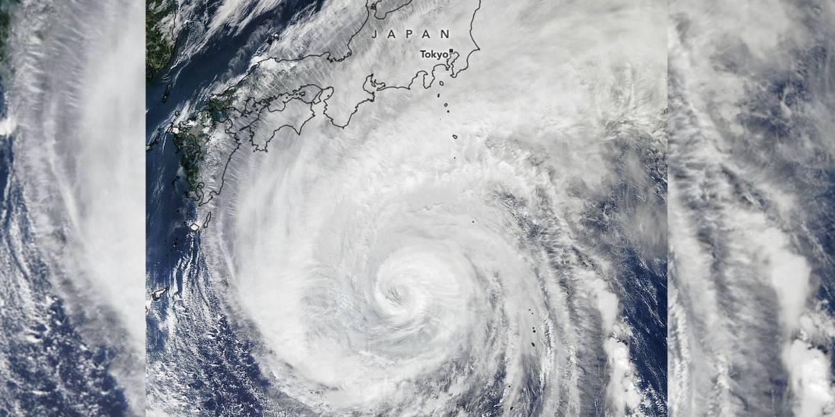 Tufão Hagibis provoca mortes e destruição no Japão
