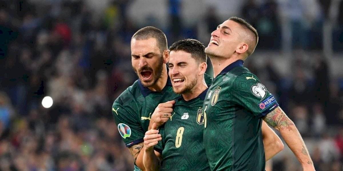 Italia clasifica a la Euro 2020