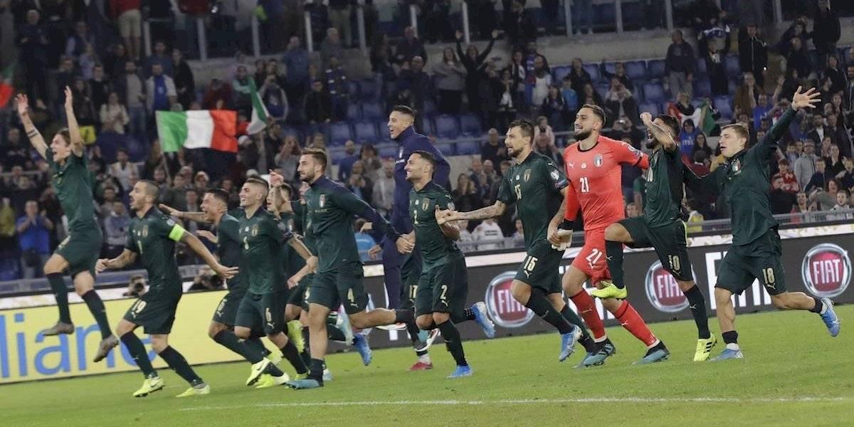Italia se convierte en la segunda selección clasificada a la Euro 2020