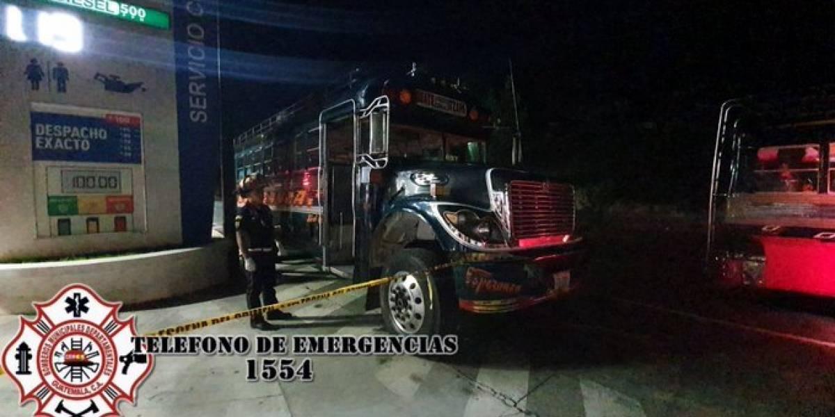Pasajero es asesinado en autobús cuando circulaba por la ruta Interamericana