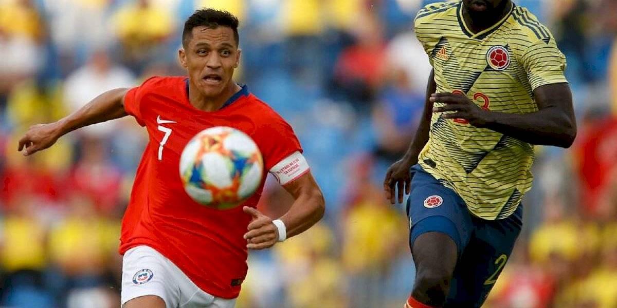 Alexis Sánchez también salió lesionado y enciende las alarmas en la Roja pensando en Guinea