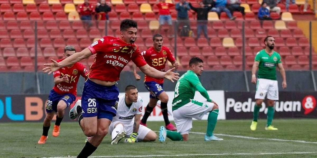 Unión Española se quedó con el clásico de colonias y clasificó a semifinales de Copa Chile