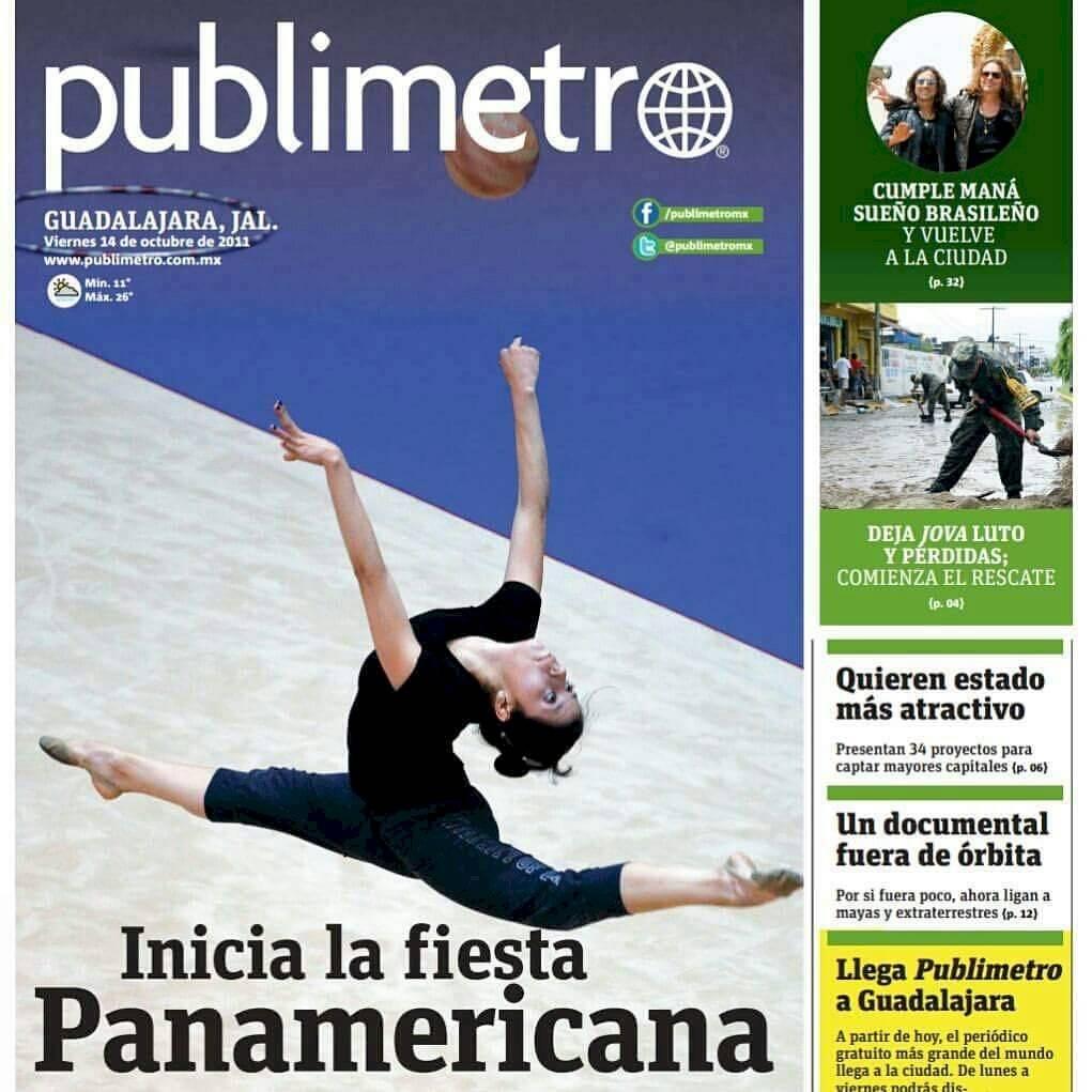Primera portada de Publimetro GDL