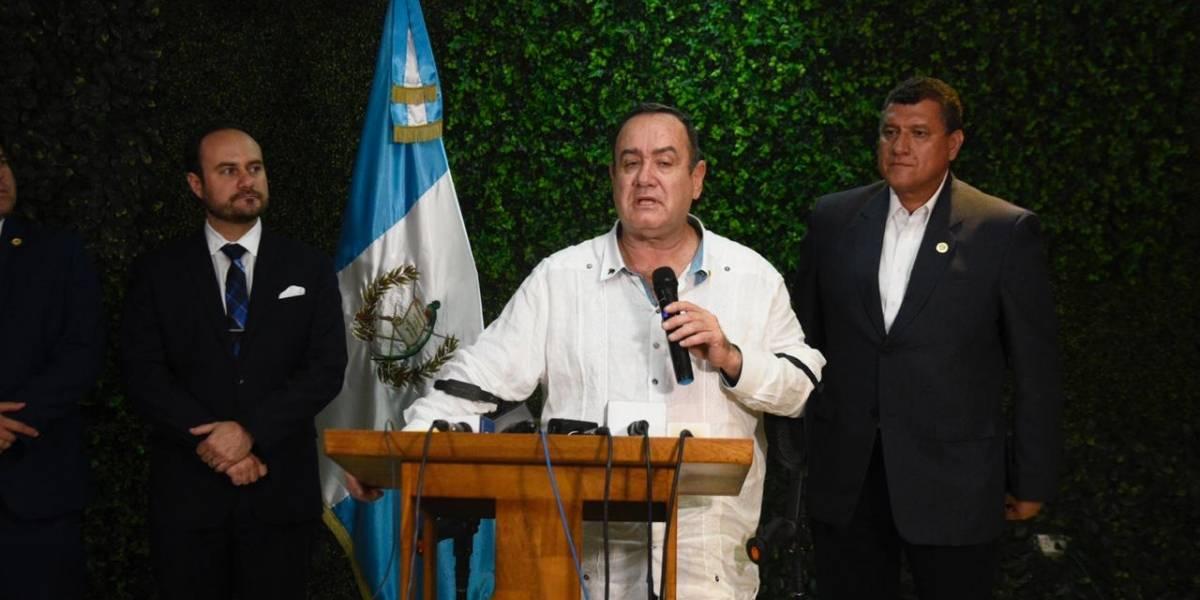 Alejandro Giammattei confirma que en enero se firmará Tratado de Cielos Abiertos entre Guatemala y México