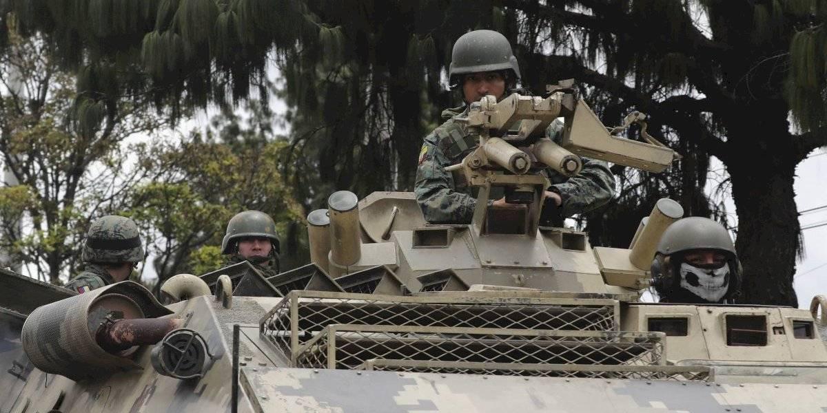 Canciller ecuatoriano culpa a fuerzas externas por los disturbios