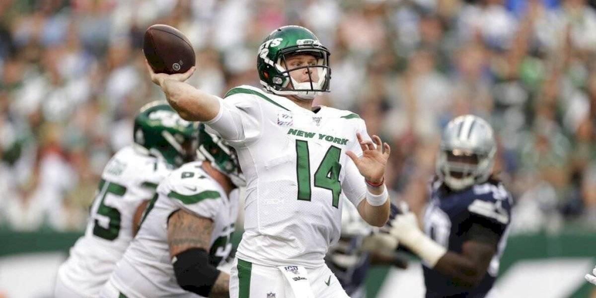 Jets consiguen su primer triunfo ante los Cowboys