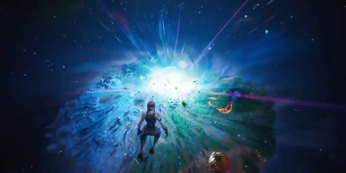 ¿Fortnite llega a su fin? Tras una increíble explosión solo hay un hoyo negro en el popular videojuego