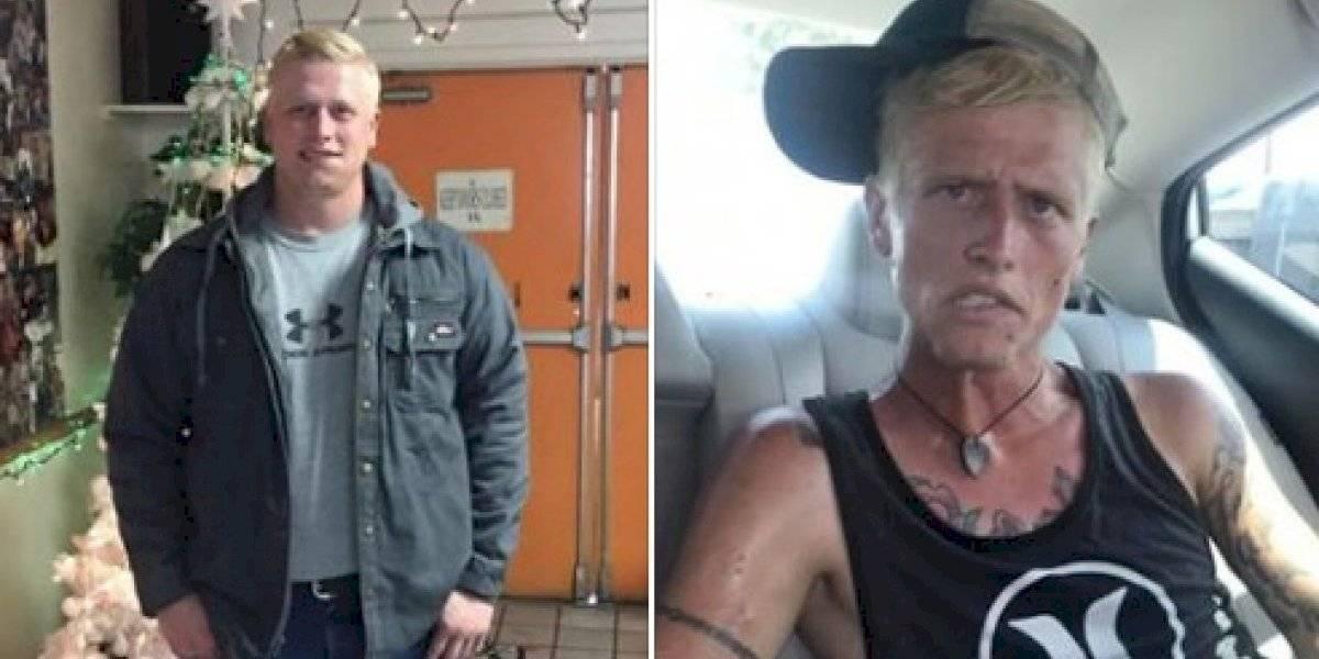 MUNDO: Madre comparte antes y después de su hijo adicto a heroína