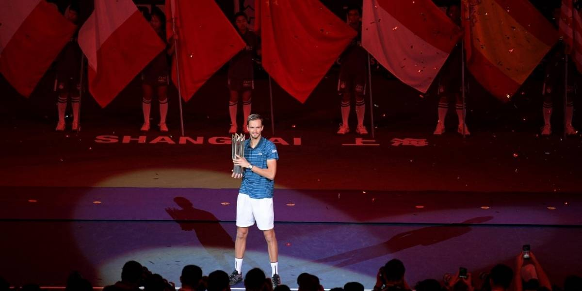 El ruso Daniil Medvedev se queda con el Masters 1000 de Shanghái
