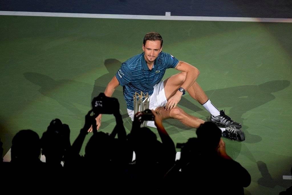 Daniil Medvedev en Masters 1000 de Shanghái