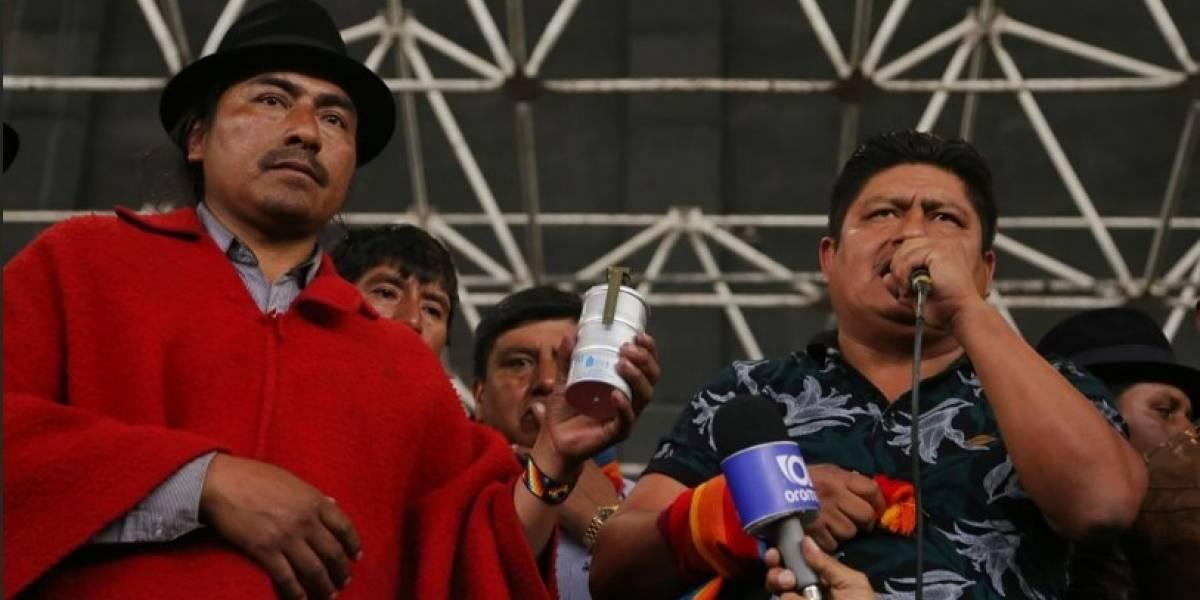 Indígenas se mantendrán en Quito hasta lograr un acuerdo