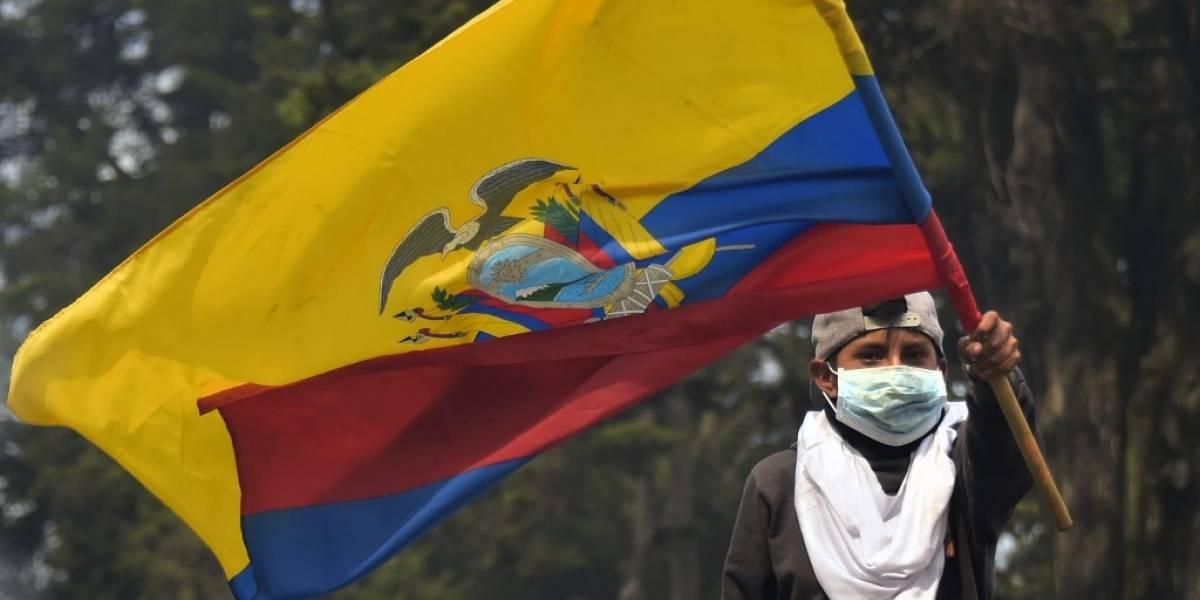 Empieza diálogo en Ecuador tras violentas protestas y disturbios