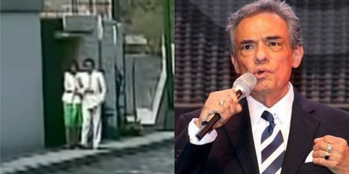 """¡Aterrador! Descubren una """"niña fantasma"""" en un videoclip de José José"""