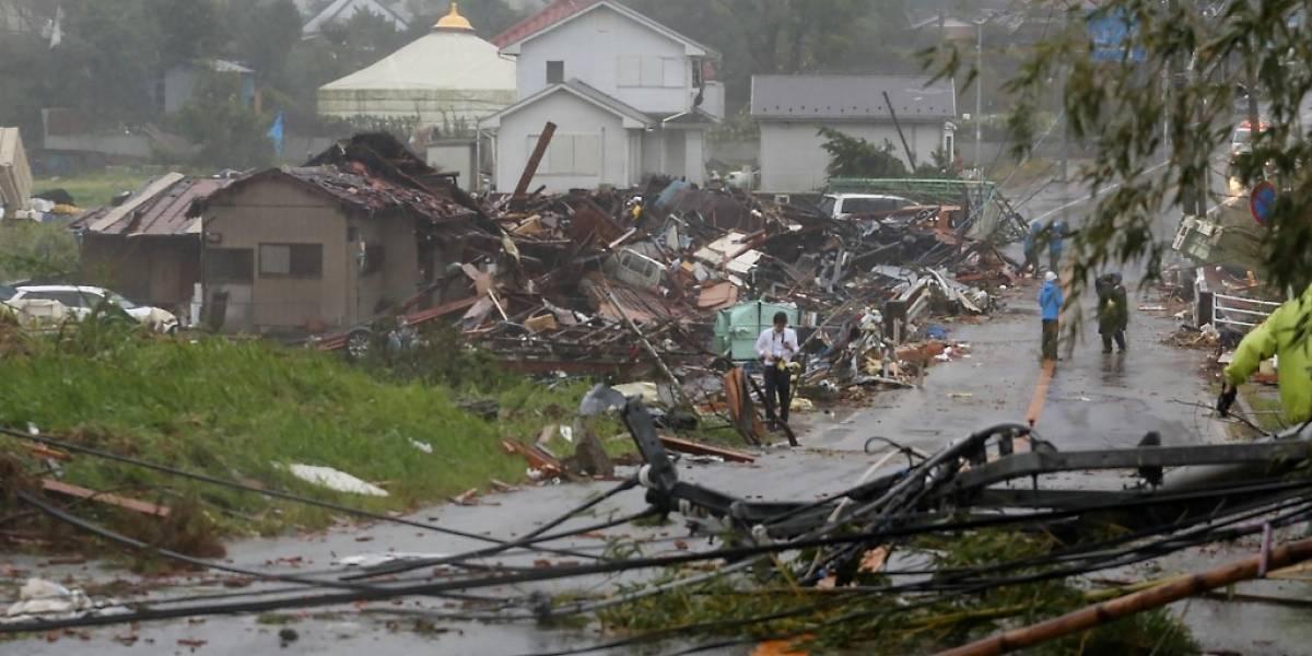 Devastador paso del tifón Hagibis deja más de 30 muertos en Japón