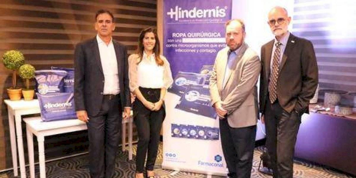 """#TeVimosEn: Ejecutivos de Farmaconal introducen al mercado local nueva ropa de cama quirúrgica """"Hindernis"""""""