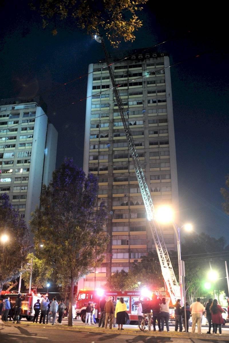 Incendio Tlatelolco