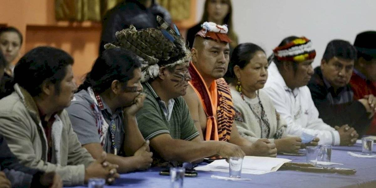 Indigenas ecuatorianos exigen a Lenín Moreno restablecer subsidio a combustibles