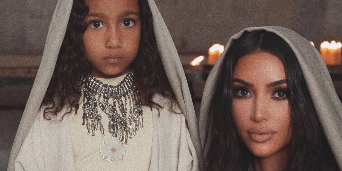Kim Kardashian es bautizada junto a sus hijos en Armenia