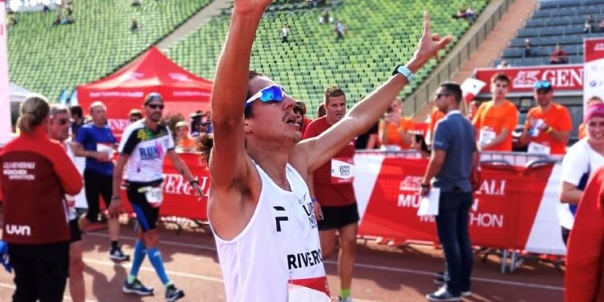 ¡Orgullo nacional! Luis Carlos Rivero triunfa en el Medio Maratón de Múnich