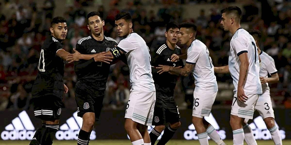 México Sub 22 empata ante Argentina en Ciudad Juárez