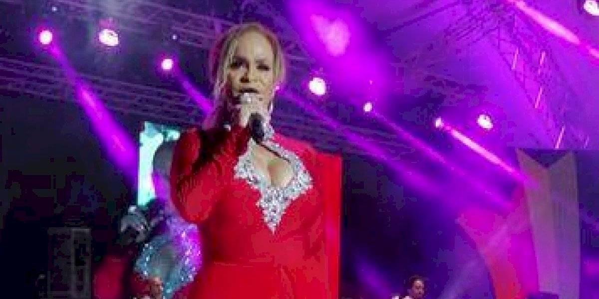 Miriam Cruz celebró su 35 aniversario en el Anfiteatro Puerto Plata