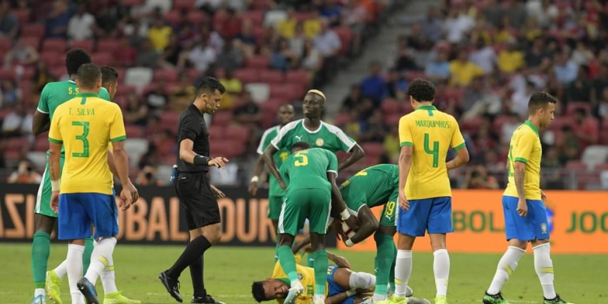 Malas noticias para Brasil y el Paris Saint-Germain