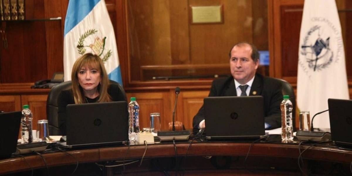 Magistrada Silvia Valdés asume como presidenta interina de la CSJ y OJ