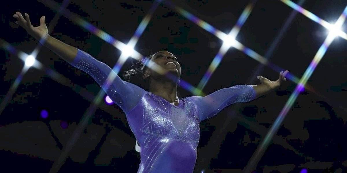 Simone Biles pasó de la agresión sexual a ser la más ganadora en los mundiales