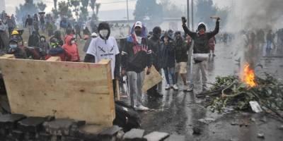 Nuevos enfrentamientos se registran en el parque Arbolito a espera de diálogo