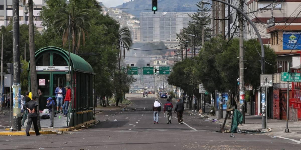 FFAA levanta temporalmente la restricción de movilidad en Quito